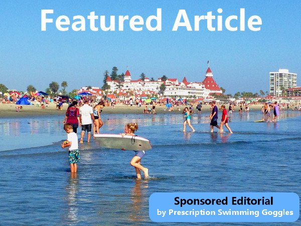 Featured sponsored editorial by Prescription Swimming Goggles'