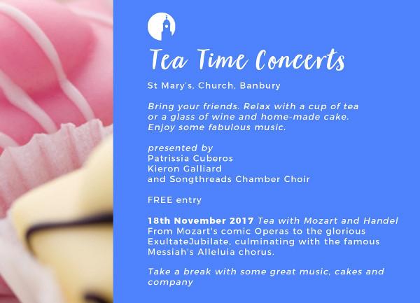 Teatime Concerts from St Mary's.