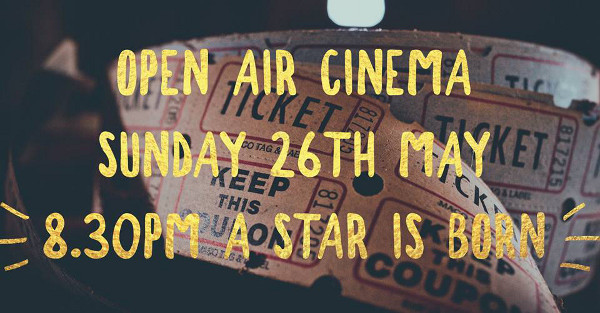 The Castle at Edgehill are holding our fourth year running open air cinema night on Bank Holiday Sunday 26th May