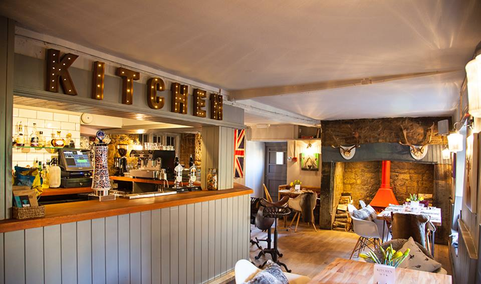 Award winning traditional, 16th-century pub with a book-lined dining room, and large garden.