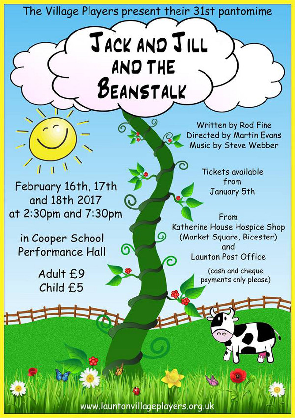 The Launton Village Players - Jack and Jill and the Beanstalk
