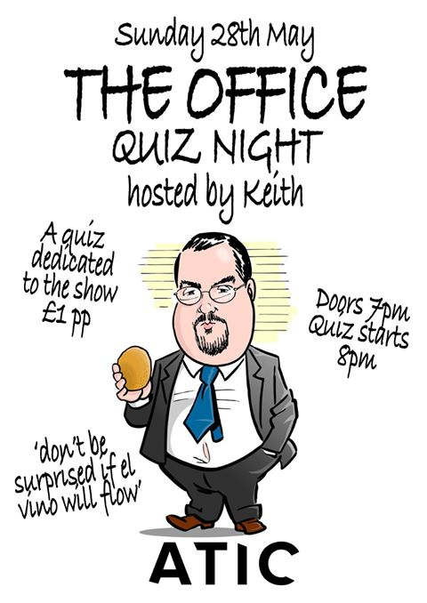 Quiz Night dedicated to The Office (TV Show).
