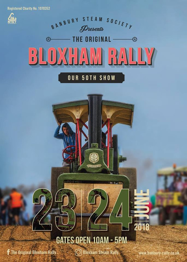 The Banbury Steam Rally was first launched in 1968 and will celebrate its 50th anniversary by hosting its most action-packed programme to date.