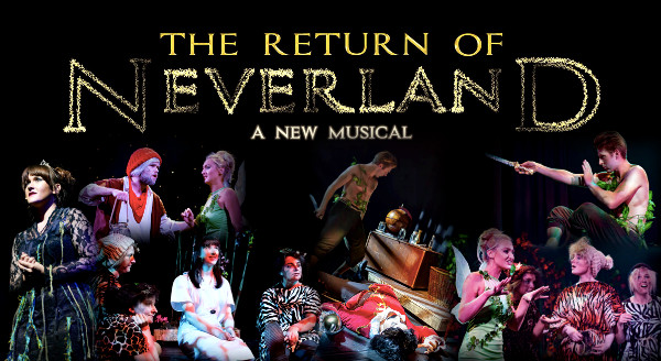 The Return Of Neverland - A New Musical Performing at The Mill Arts Centre – Banbury.