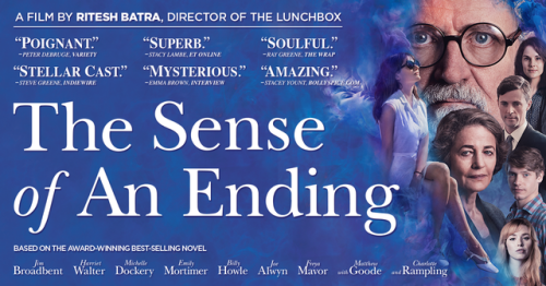 The Sense of an Ending is based on the Man Booker Prize-winning novel by Julian Barnes.