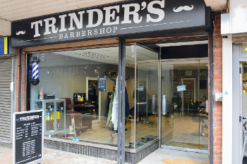 Trinder's Barbershop is all about style. Find them at 3a Church Lane, Banbury, Oxfordshire They're open 7 days a week.
