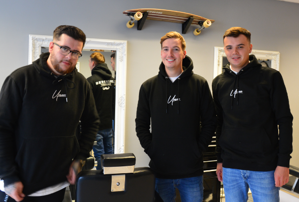 Matt joins Jordan and Dominic in this increasingly popular barber shop in Church Lane, Banbury.