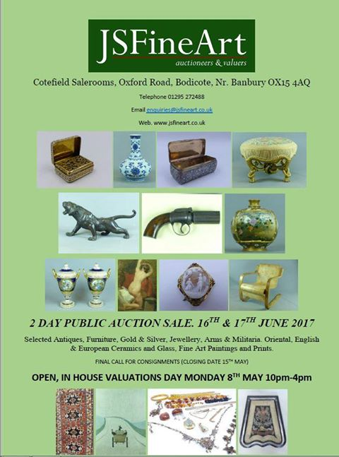 Two day Auction Sale for Selected antiques