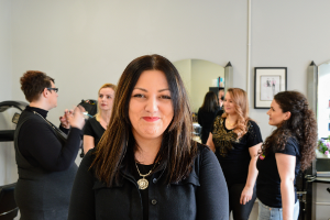 Introduction offer with stylist Rita. Cut & Blow Dry at £25.