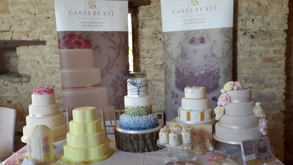 Wedding Cakes by Cakes by Kit