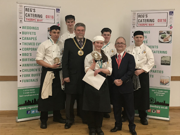 Hook Norton resident Sophie Brown wins Banbury Young Chef Competition