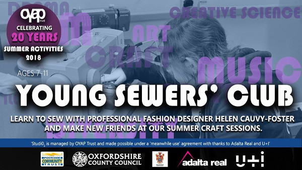 Join OYAP Trust for 2 days of creative crafts and making with artist Helen Cauvy-Foster!