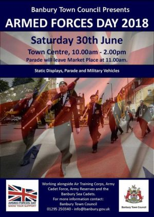 Banbury Armed Forces Day includes Spitfire flypast