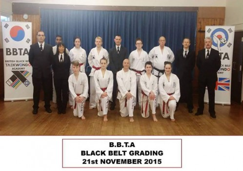 BBTA Black Belt Grading Saturday November 21st 2015