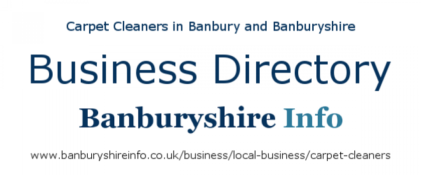 Carpet cleaners based in the Banbury area. cleaning carpets in North Oxfordshire, South Northamptonshire, and South Warwickshire.