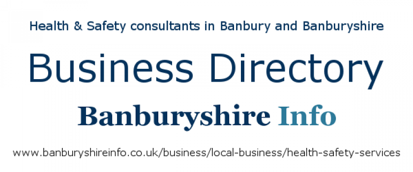 A directory to help you find the very best health & safety services and environmental management consultancies based in the Banbury area.