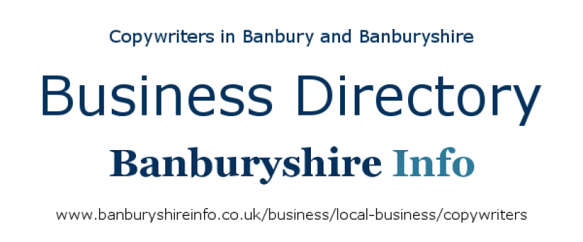 A directory to help you find the best freelance copywriters for your key messages and content marketing based in the Banbury area.