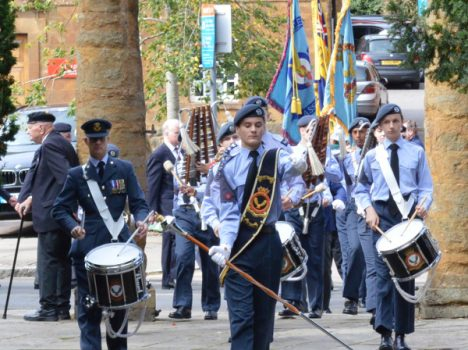 Battle of Britain parade in Banbury