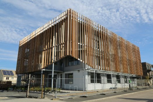 Zero carbon business centre is the first Passivhaus Plus certified development in the UK