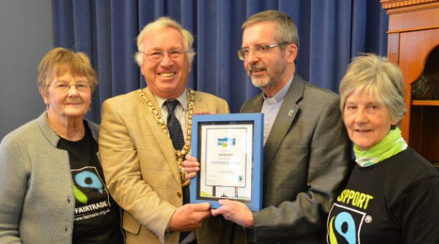 Banbury celebrate committment for using Fairtrade products