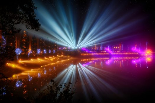 A series of stunning lights shows will give shoppers and visitors a reason to Be Bright in Banbury this winter.