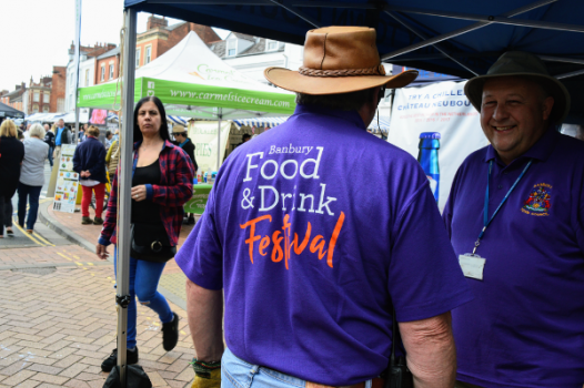 Banbury Food and Drink Festival serve culinary and beverages delights.