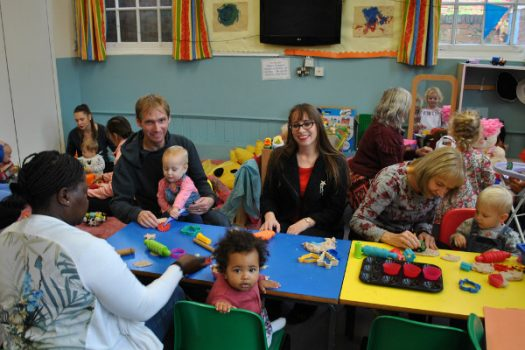 Drop-in service for young families restored at Britannia Road Children's Centre