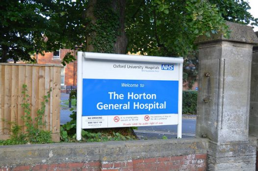 Horton General Hospital in Banbury.