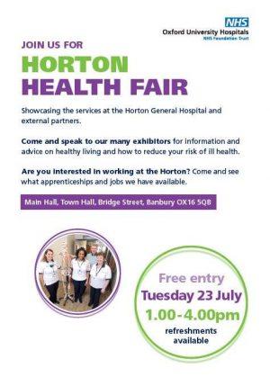 Horton General Hospital Health Fair