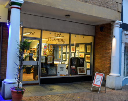 With a passion for quality service, craftsmanship and attention to detail. The Art Framing Workshop has become a Banbury town centre business success.