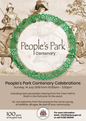 A massive summer party will celebrate the 100th anniversary of People's Park as a place of recreation for the residents of Banbury.