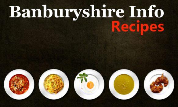 The Banburyshire Info recipe page.