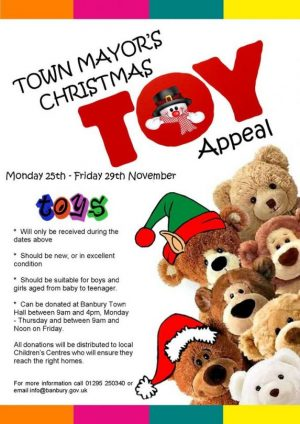 The Banbury Town Mayor's Annual Toy Appeal