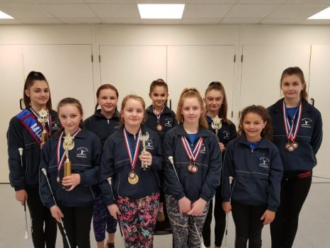 National success for Banbury Cross Twirling Club members.