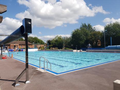 Immersive theatre in a unique location, Banbury's Woodgreen Swimming Pool.