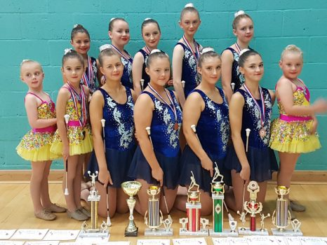 Banbury Cross Twirlers scoop major honours.