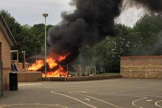 Pupils, parents and staff of Hook Norton CEP School devastated.