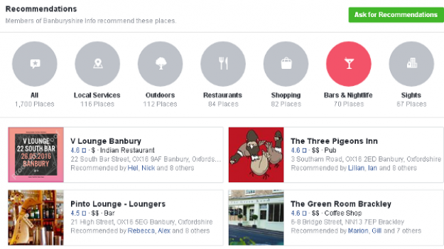 The looking for recommendations feature in (specified) Facebook groups, is way more useful than many businesses may realise.