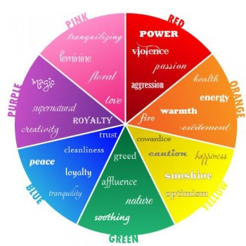 the psychology of colours - whilst I didn't research that - accords perfectly with the ethos of Cherish Ceremonies!